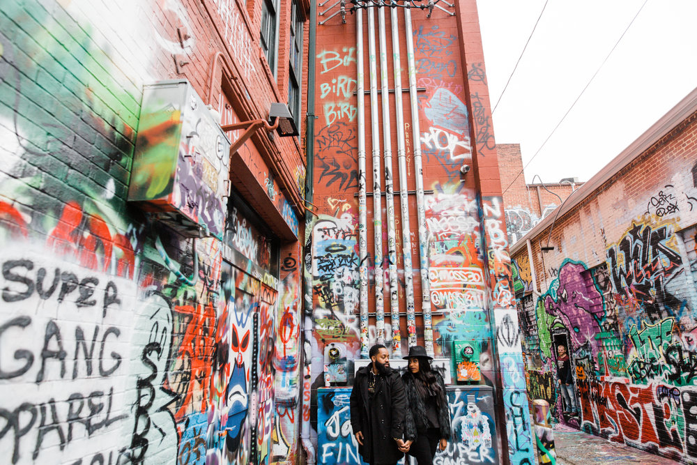 Creative Baltimore Graffiti Alley Engagement Session Megapixels Media Photography-20.jpg
