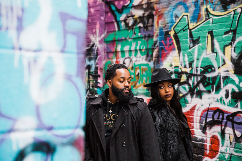 Creative Baltimore Graffiti Alley Engagement Session Megapixels Media Photography-21.jpg