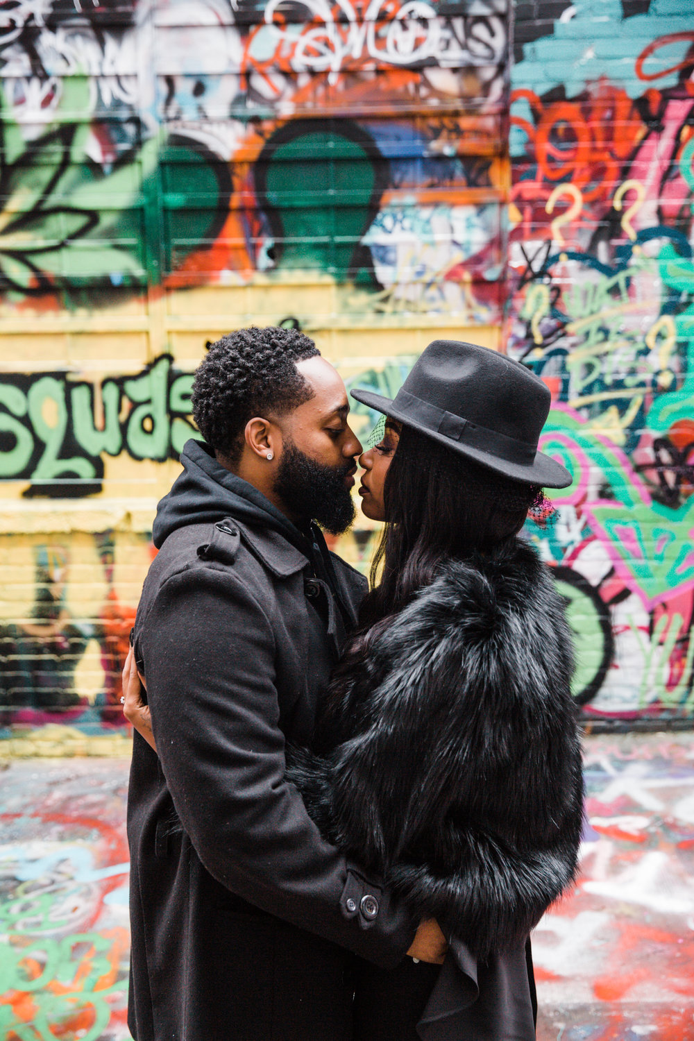 Creative Baltimore Graffiti Alley Engagement Session Megapixels Media Photography-23.jpg