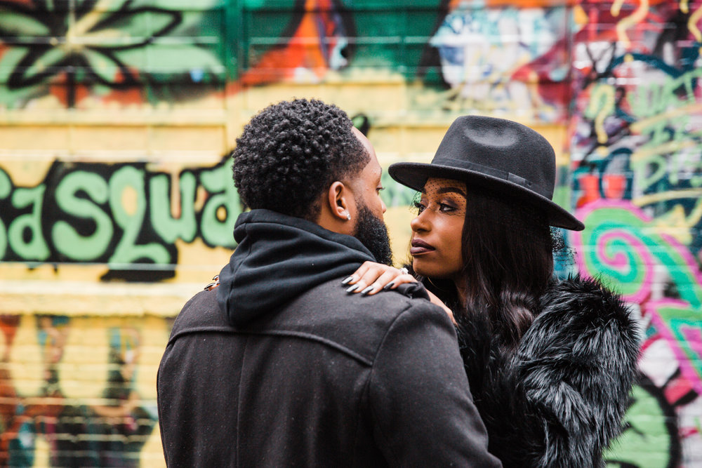 Creative Baltimore Graffiti Alley Engagement Session Megapixels Media Photography-24.jpg