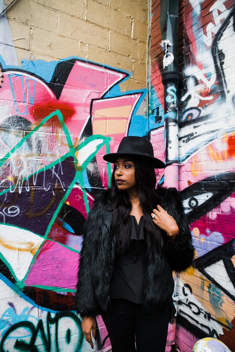 Creative Baltimore Graffiti Alley Engagement Session Megapixels Media Photography-29.jpg