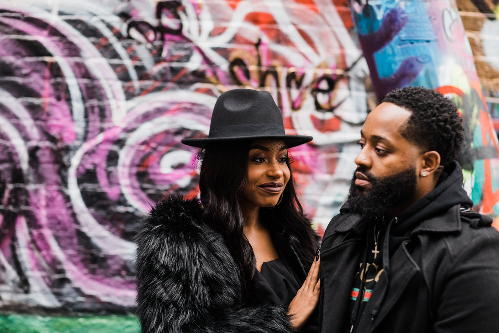 Creative Baltimore Graffiti Alley Engagement Session Megapixels Media Photography-34.jpg