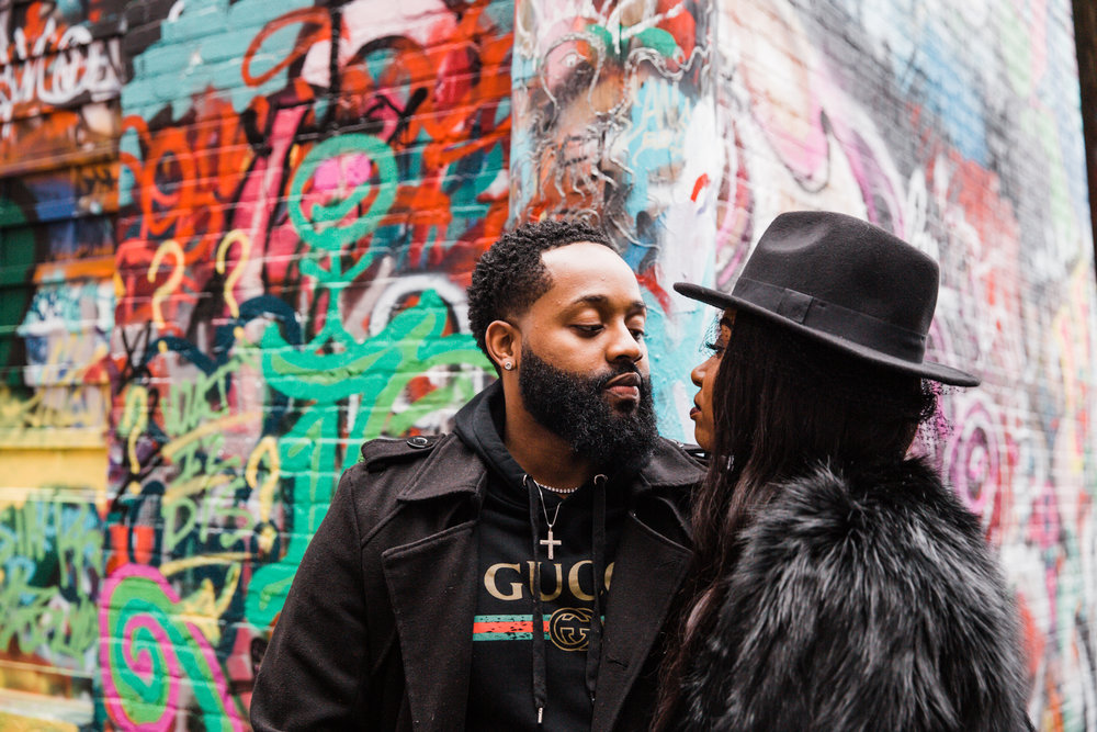 Creative Baltimore Graffiti Alley Engagement Session Megapixels Media Photography-41.jpg
