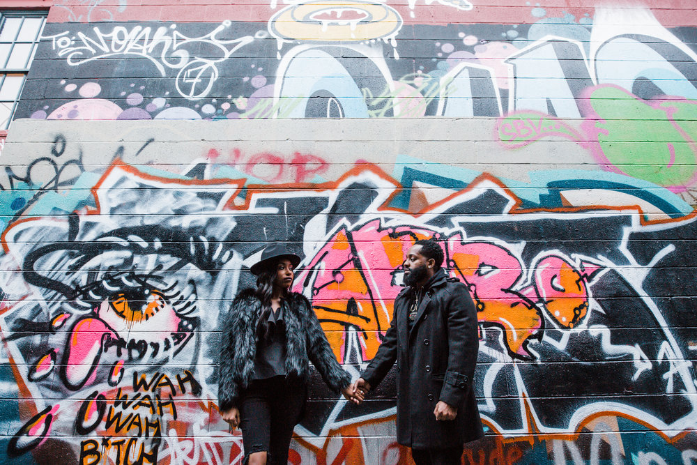 Creative Baltimore Graffiti Alley Engagement Session Megapixels Media Photography-44.jpg