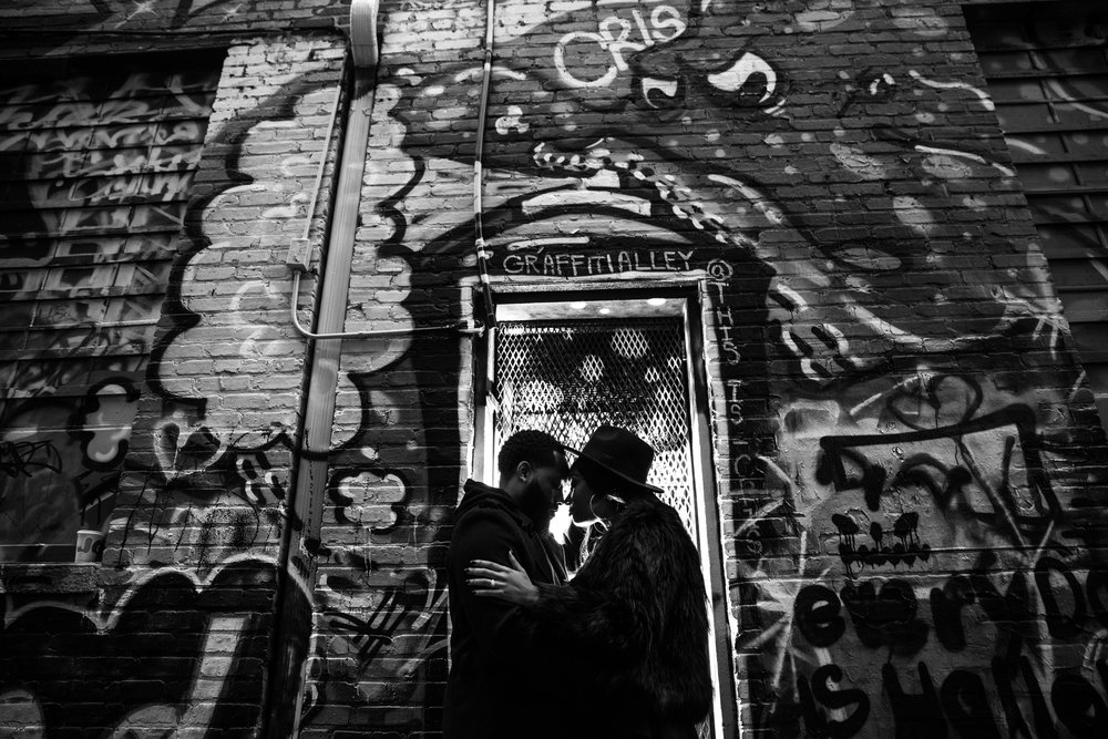 Creative Baltimore Graffiti Alley Engagement Session Megapixels Media Photography-47.jpg
