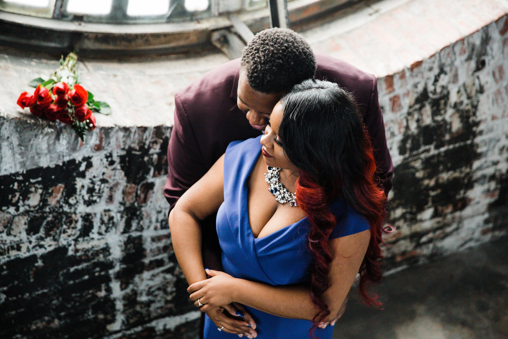 Meagan Terrell Bromo Arts Tower Engagement Session Megapixels media Photography-18.jpg