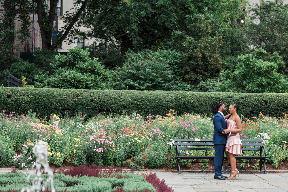 Megapixels Media Best Destination Engagement Photography in New York City Central Park Untemeyer Garden.jpg
