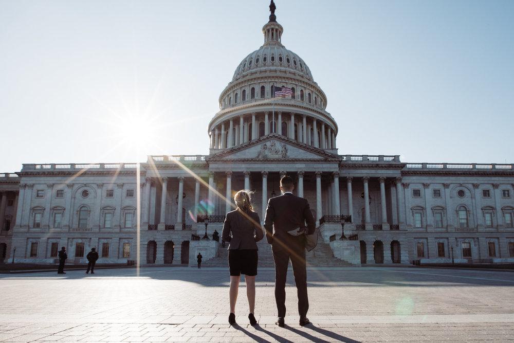 Megapixels Media Best Destination Engagement Photography in Washington DC Capital Power Couple.jpg
