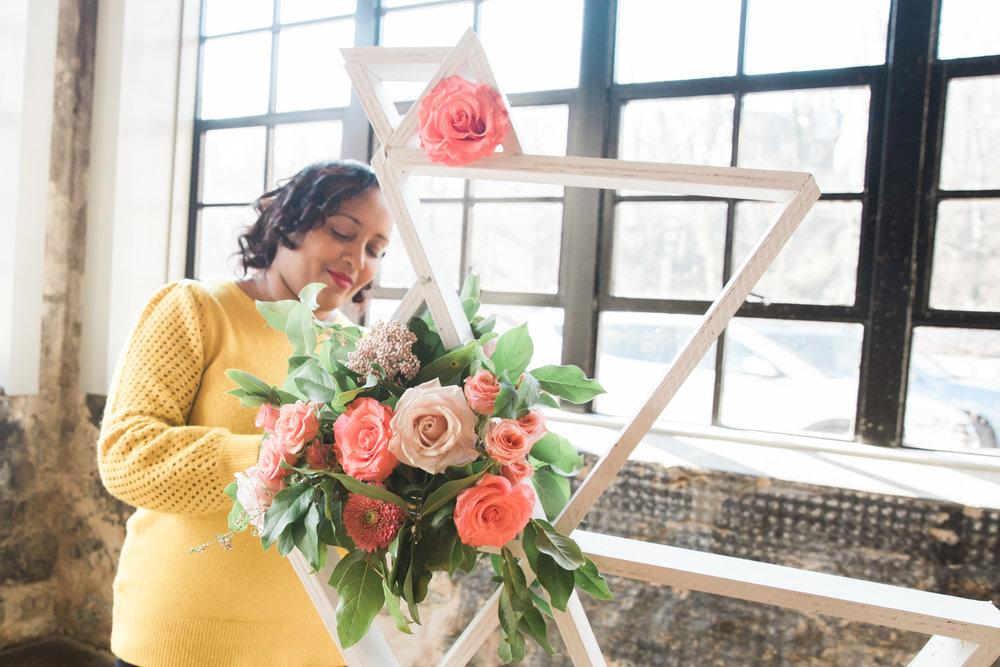 Black Woman Owned Wedding Florist in Baltimore Maryland Washington DC Mainstreet Ballroom Megapixels Media Photography -3.jpg
