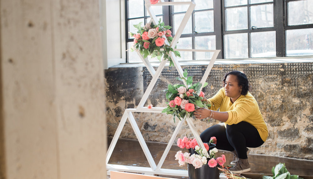 Black Woman Owned Wedding Florist in Baltimore Maryland Washington DC Mainstreet Ballroom Megapixels Media Photography -4.jpg