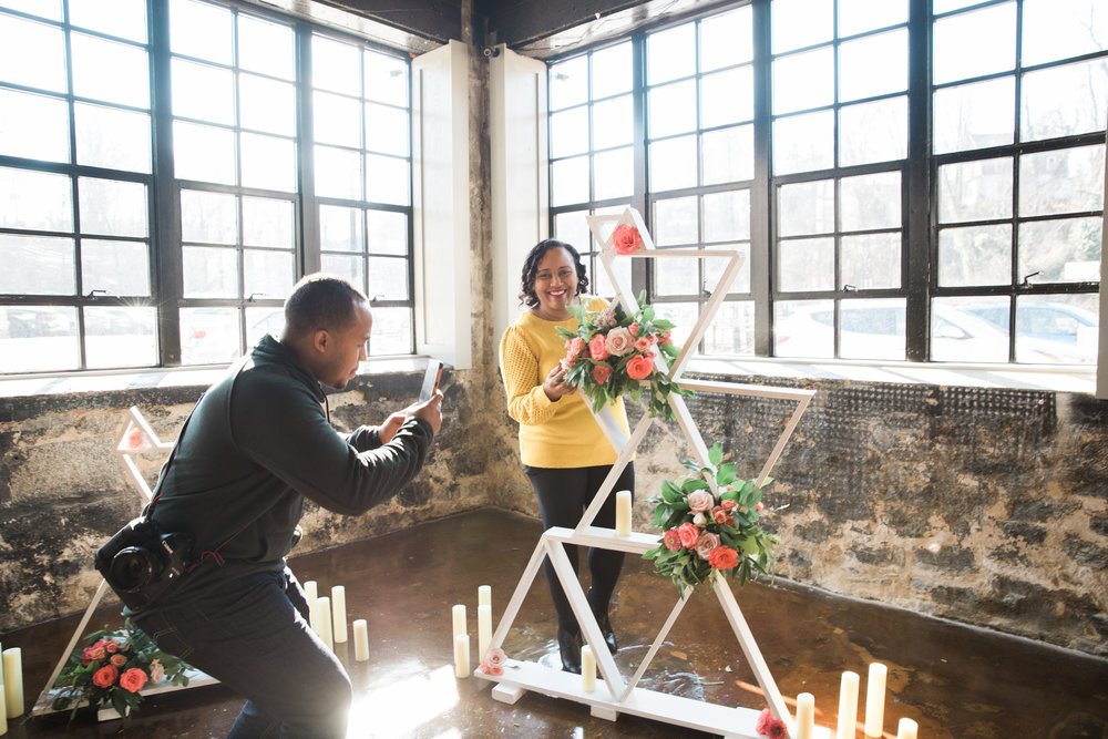 Black Woman Owned Wedding Florist in Baltimore Maryland Washington DC Mainstreet Ballroom Megapixels Media Photography -16.jpg