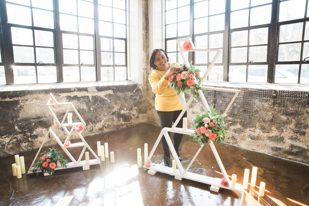 Black Woman Owned Wedding Florist in Baltimore Maryland Washington DC Mainstreet Ballroom Megapixels Media Photography -15.jpg