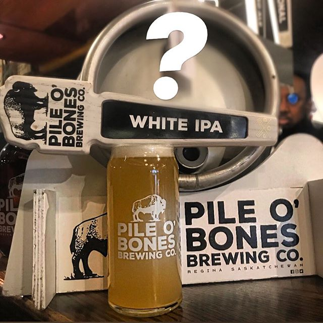 We saved one of the best for last, as we have @pileobonesbrews White IPA on for $6 as our #pintoftheday today!. . But what's in the cask? Well it's 1 of 3 specialty casks from @pileobonesbrews that we will be tapping this weekend. First one gets tapped @ 4:30 P.M. today - but we aren't saying what it is until then, so come see for yourself!