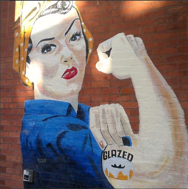 mural in chicago Bucktown Wicker Park
