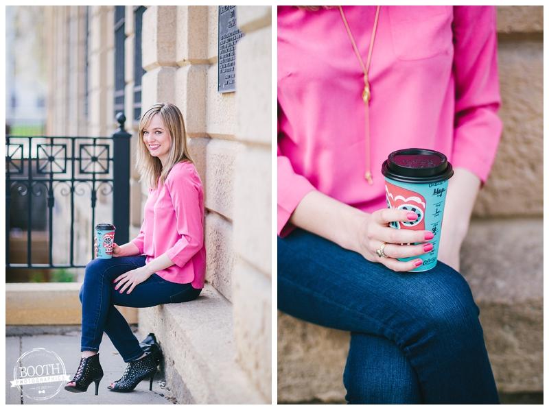 Fashion Blogger Maya McDonald of Charmingstyled in Madison