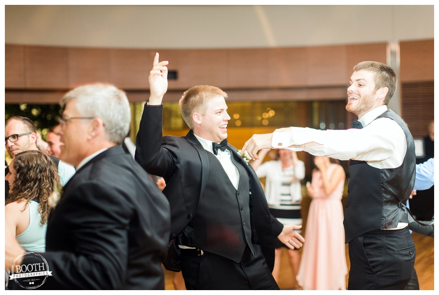 dancing at a UW Madison wedding reception