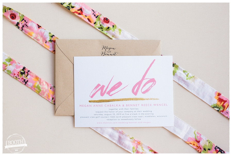 wedding invitation suite styling
