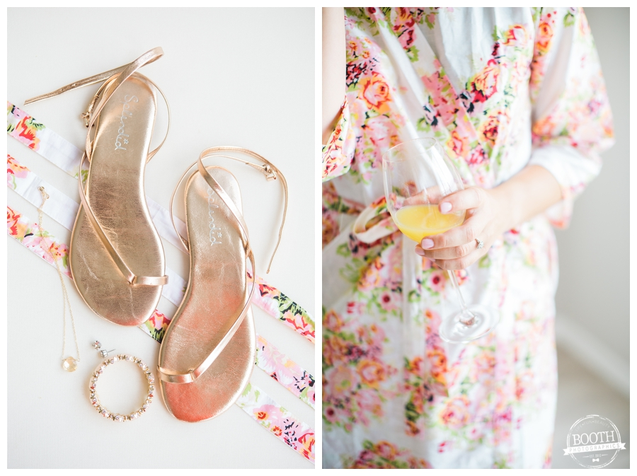 bridal shoes and jewelry