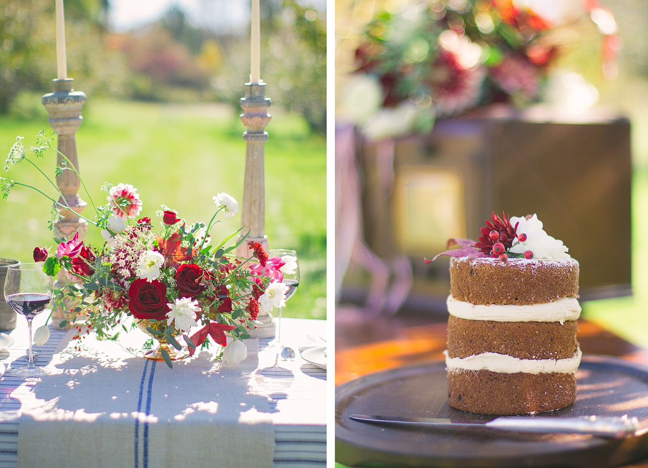 wedding vendors cake and floral