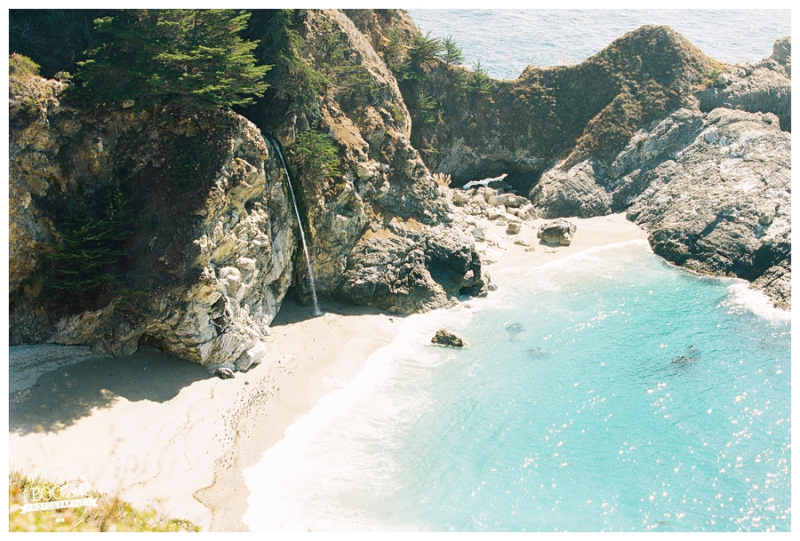 McWay Falls in Julia Pfiefer Burns State Park in Big Sur, CA