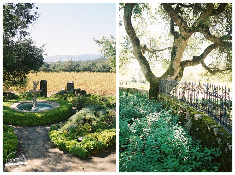 Bartholomew Park Winery grounds in Sonoma, California