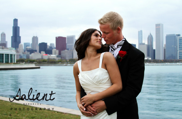 Bit & phil Chicago Elopement salient memories photography