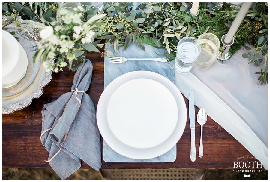 beautiful elegant wedding reception table design