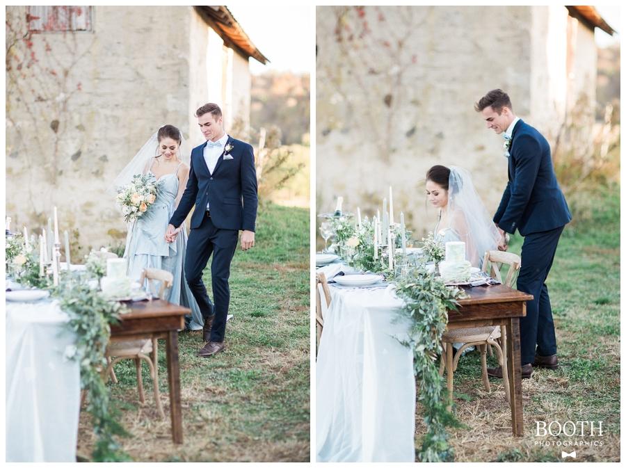 outdoor Wisconsin wedding