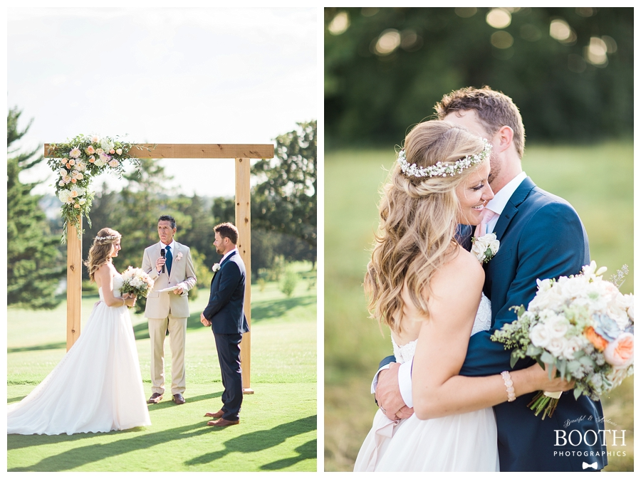fine art outdoor Wisconsin wedding