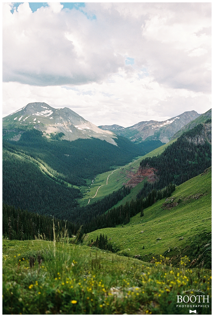 Colorado Rocky Mountains by fine art film photographers, Booth Photographics