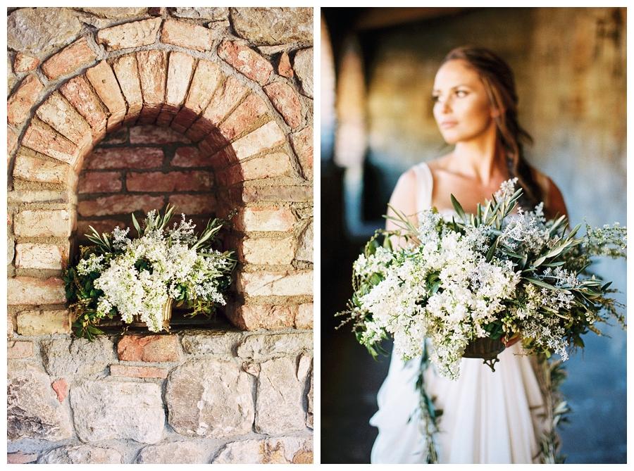 fine art bridal session in napa valley