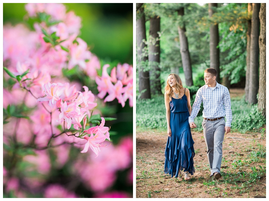 woodsy fine art engagement session