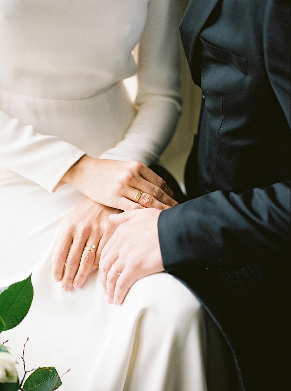elegant minimal wedding