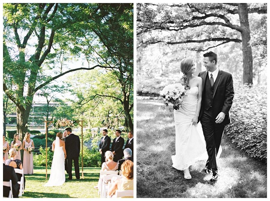 Chicago garden wedding