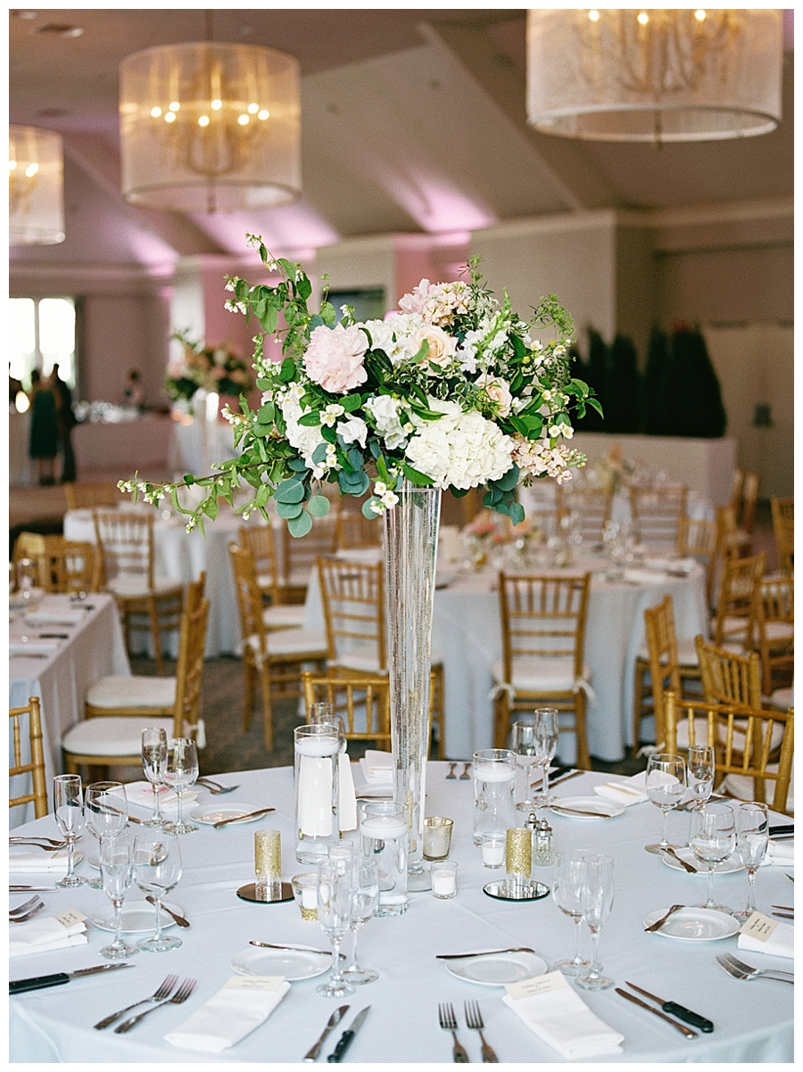 fine art photography of wedding reception details