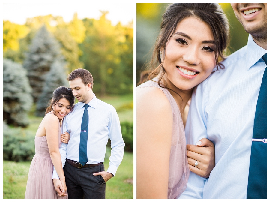 UW Madison fine art engagement session