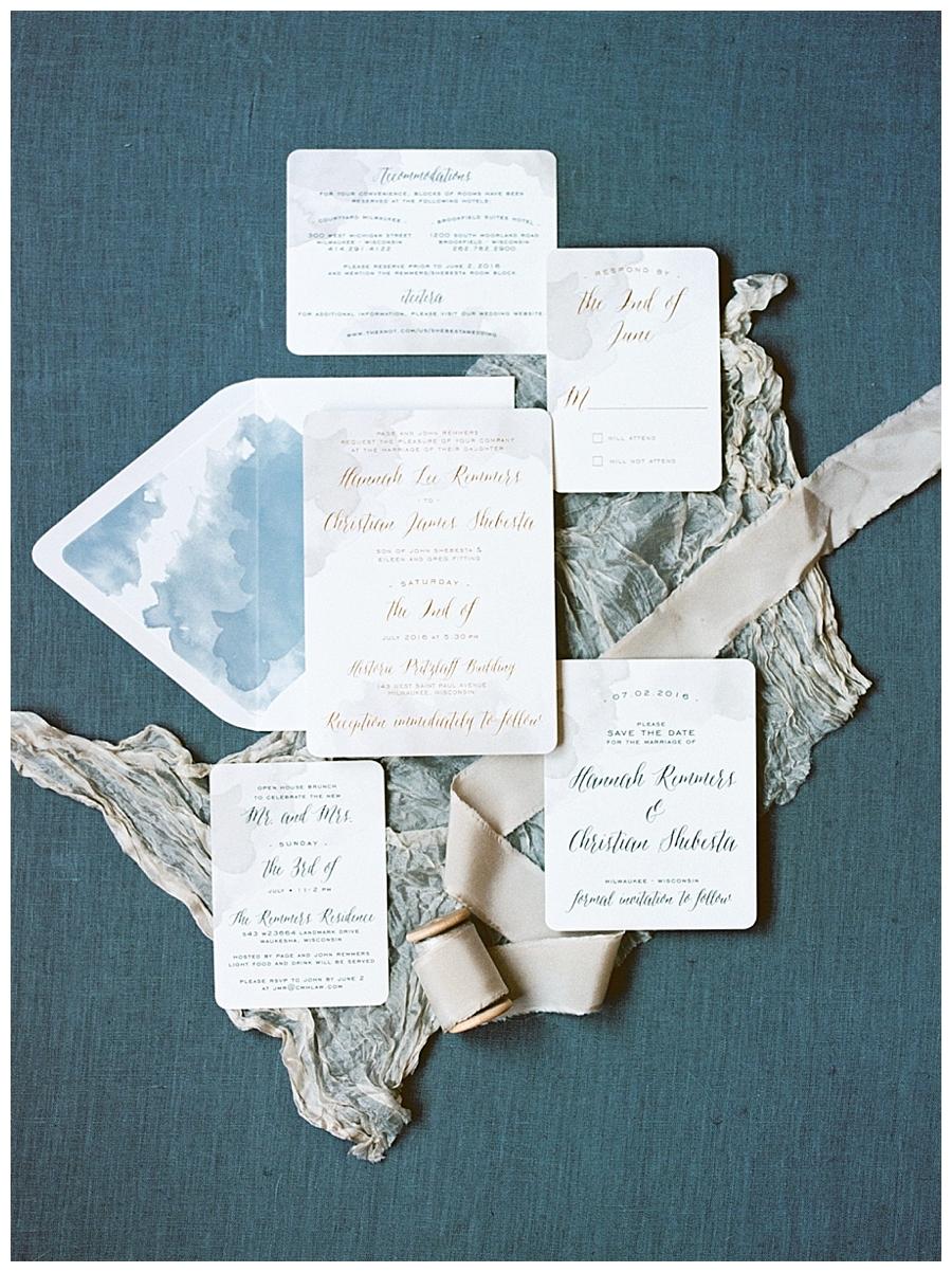 fine art wedding styling for Milwaukee fine art wedding