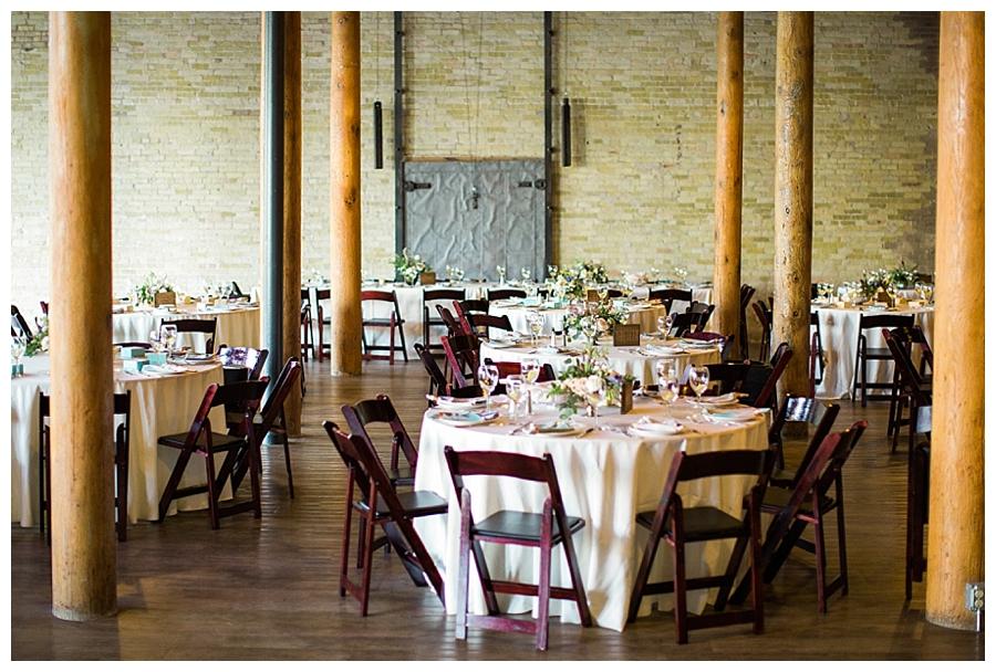 fine art wedding reception at Pritzlaff Events