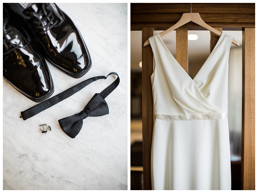 Modern fine art wedding styling in Madison, WI