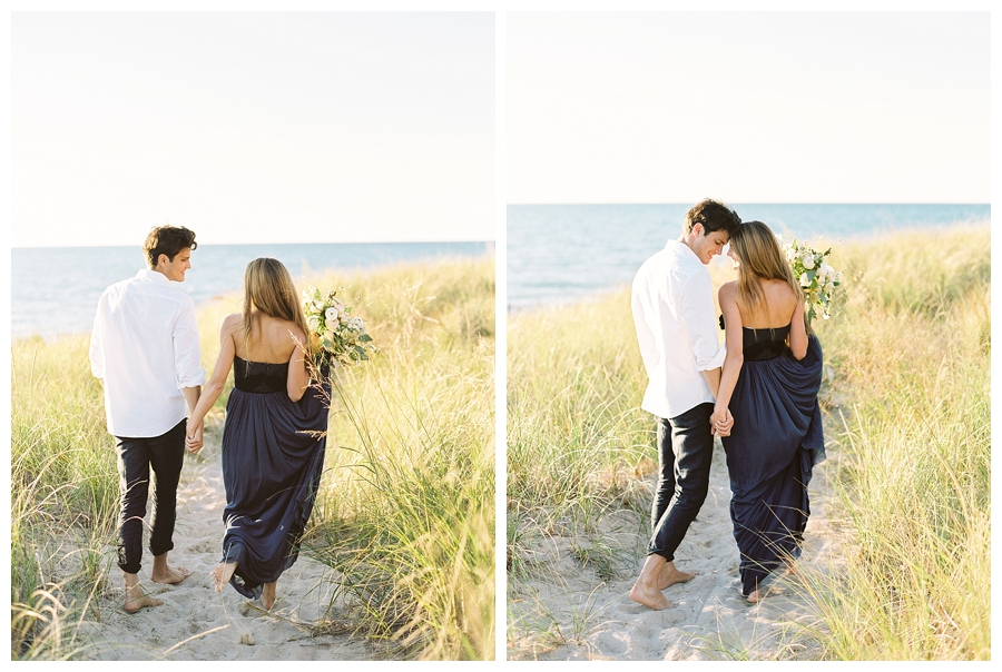 fine art film photography at Warren Dunes State Park, Michigan