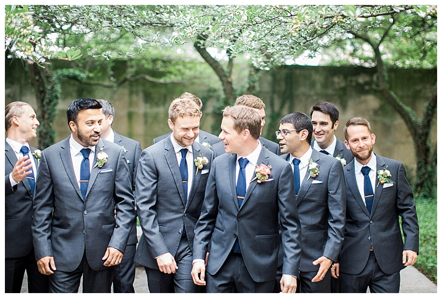 fine art bridal party photography at the Art Institute of Chicago