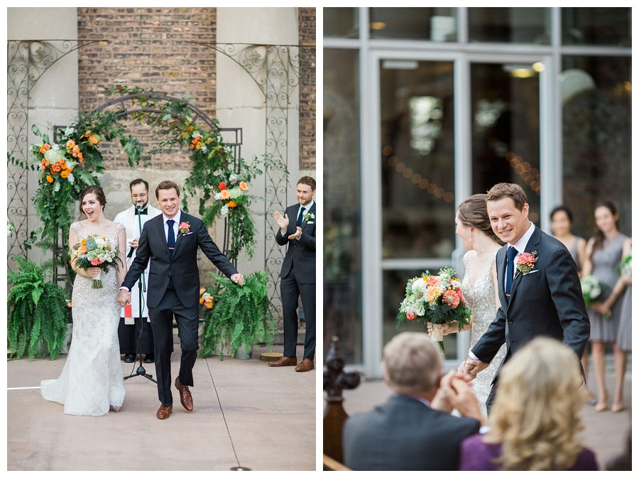 fine art wedding ceremony photography at Artifact Events of Chicago