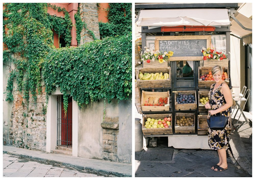 fine art travel photography of Florence markets