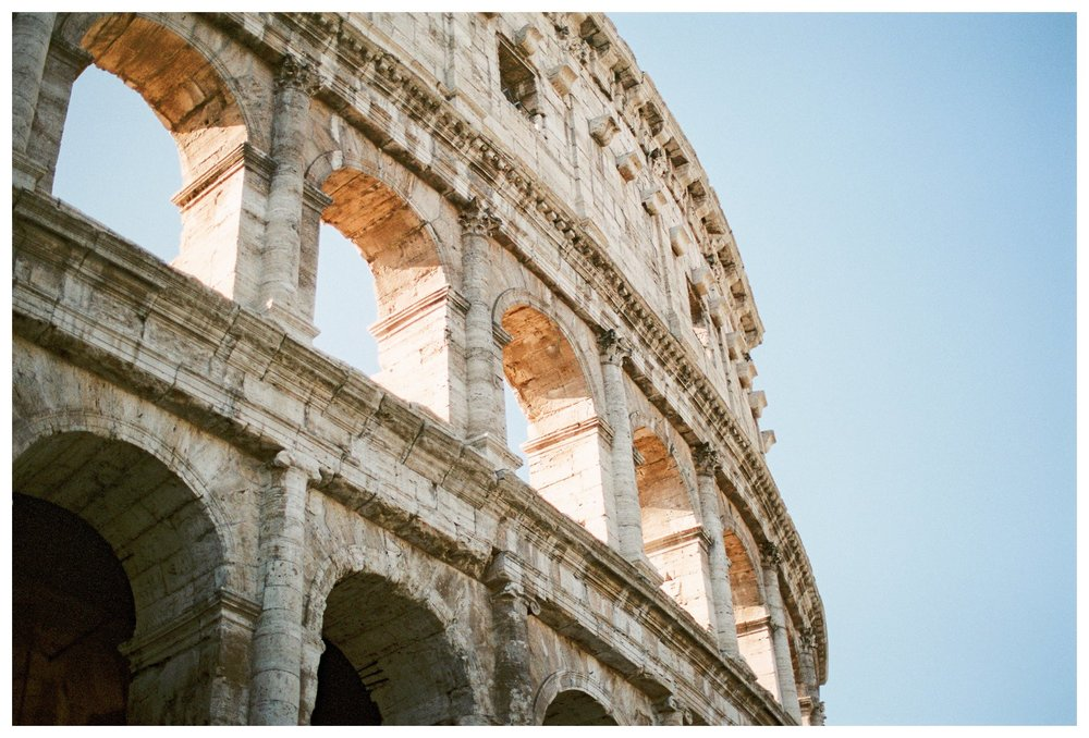 fine art travel photography at the Colosseum