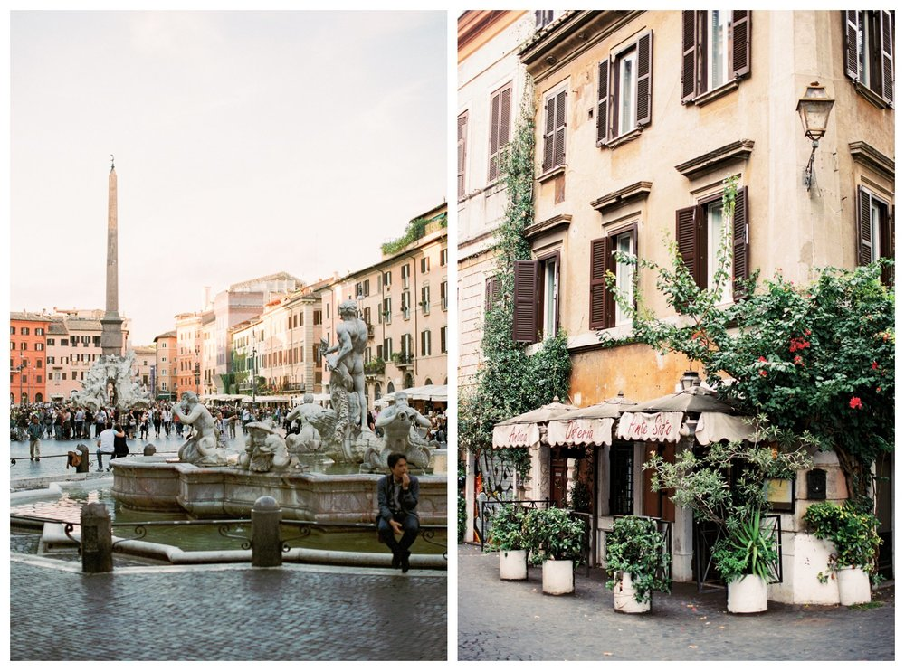 fine art travel photography in Trastevere, Rome