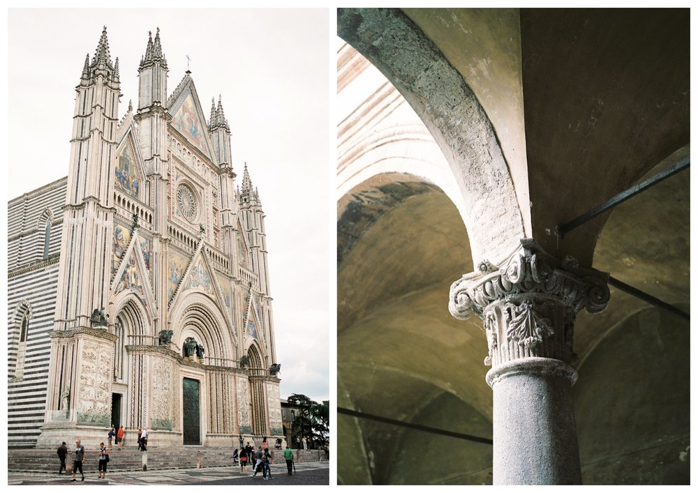 travel photography of the ancient village of Orvieto in Umbria, Italy