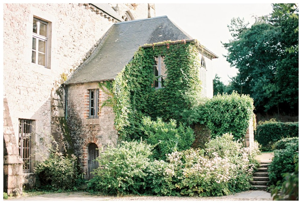 film photography of Abbaye de Beauport in Paimpol, Francefilm photography of the historic ruins of Abbaye de Beauport in Paimpol, France
