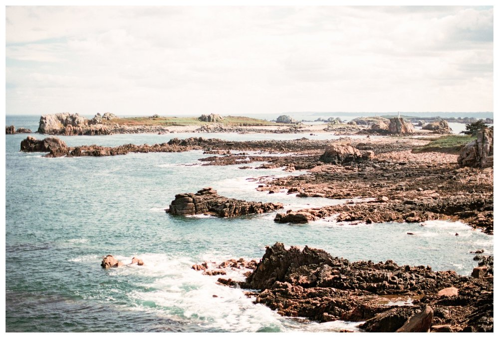 film photography of Ile de Brehat, France