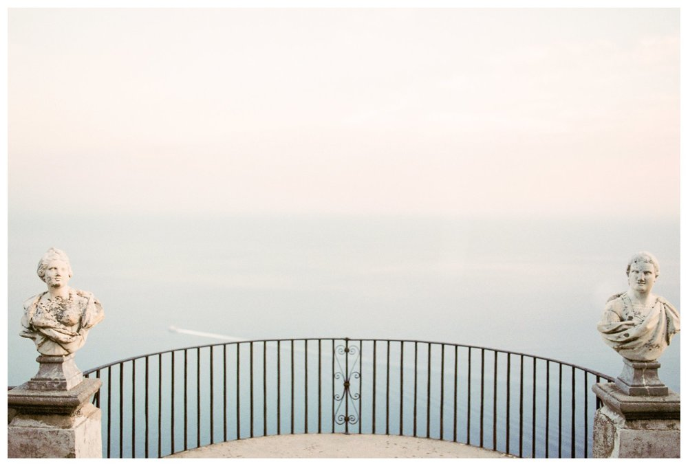 fine art travel photography of Villa Cimbrone in Ravello, Amalfi Coast