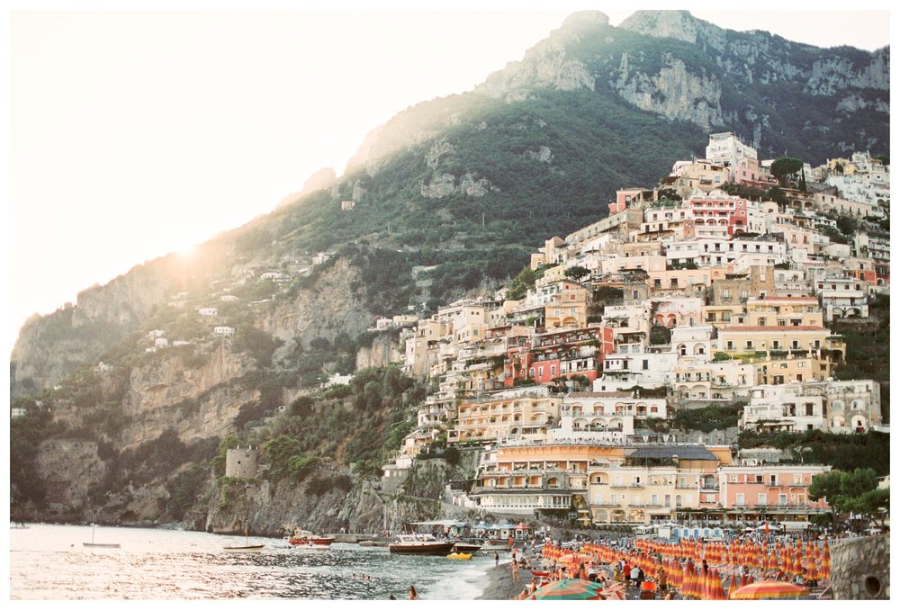 fine art travel photography of Positano, Amalfi Coast